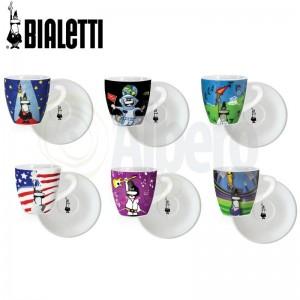Komplet 6 Filiżanek Bialetti Eventi