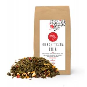 Zielona Herbata Sencha Energetyczna Chia