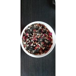 Biała herbata z jabłkiem, różą i akacją